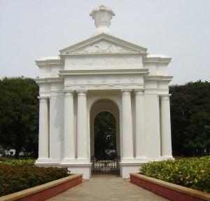 Puducherry Park Monument