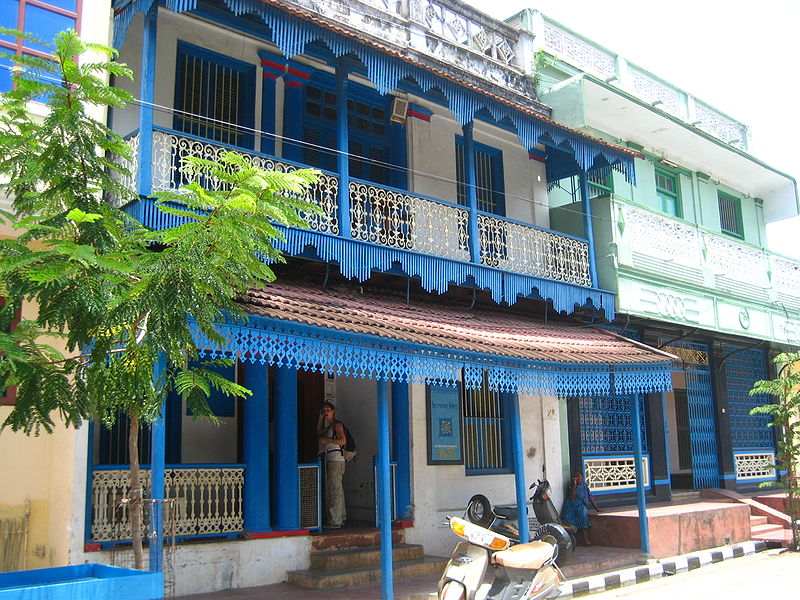 Puducherry_Tamil_house