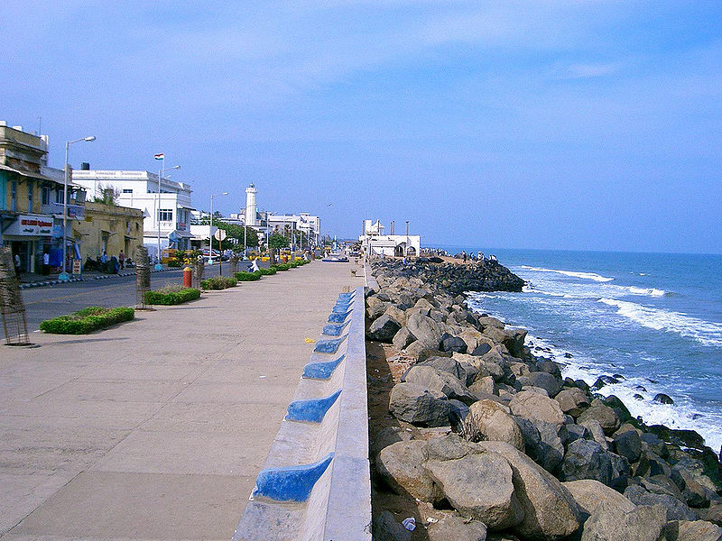 Puducherry_beach