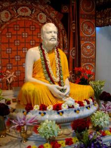 Ramakrishna Marble Statue