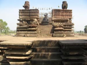 Ramappa Temple Nandi Mandapa