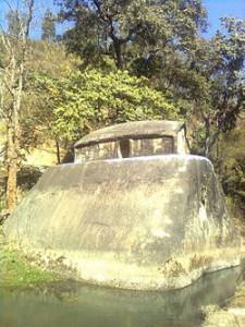 Rock cut temple Maibang