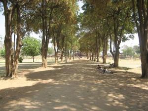 Royal Garden entrance of ramappa temple