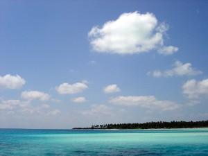 Sea off Bangaram island Lakshadweep