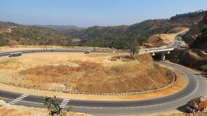 Shillong Bypass road