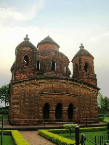 Shyam Ray Temple in Bishnupur