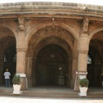Siddi_syed_mosque_panoramic