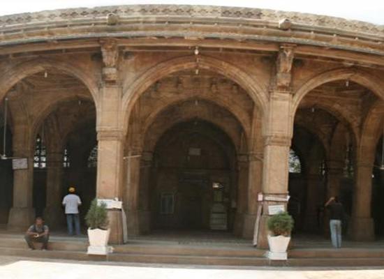 Siddi syed mosque panoramic