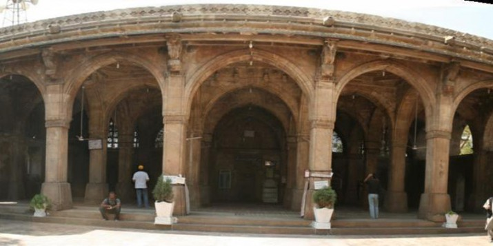 Siddi syed mosque panoramic