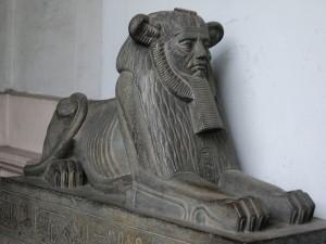Sphinix at Indian Museam Kolkatta