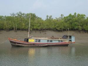 Sundarban police boat