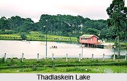 Thadlaskein Lake  Meghalaya