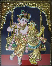Tanjore Paintings Arts and Crafts in Tamilnadu