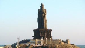 Tiruvalluvar statue LIC