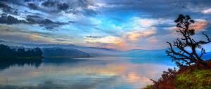 Umiam Lake   by Vikramjit Kakati