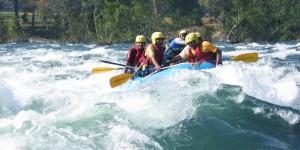 White water rafting in Goa