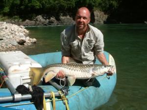angling in subansiri river arunachal pradesh