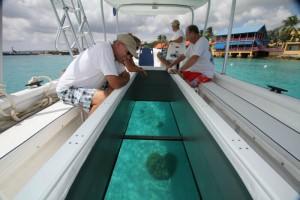 glass bottom boat bonaire 2