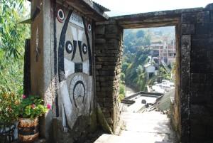 khonoma old entrance