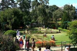 lady hydari park seen from the entrance