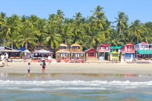 palolem beach goa view