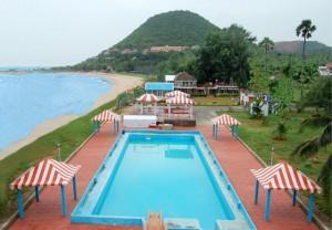 rishikonda beach pool