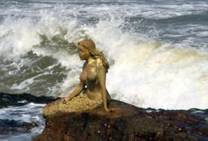 rushikonda beach mermaid