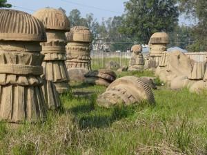 the ruins of medieval kachari kingdom