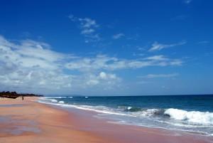 varca beach water shore view