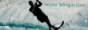 water skiing in goa