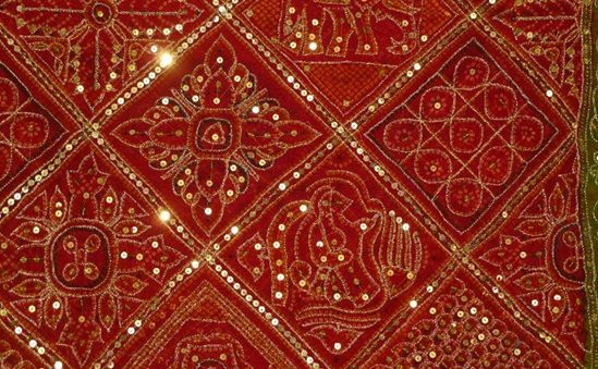 Zari work designs textile handicraft gujarat jnr for Art decoration international pvt ltd