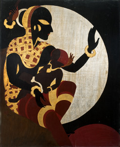 Allahabad Museum painting