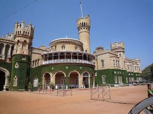 BLR palace main entrance
