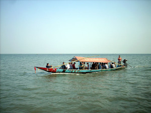 Boat ride on Chilika Lake