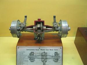 Car Ear Axle