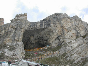 Cave Temple of Lord Amarnath
