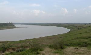 Chambal river near Dhaulpur India