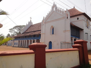 Champakulam Valia Palli South East View