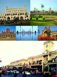 Collage of places in Lucknow