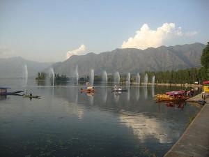 Dal Lake Srinagar July