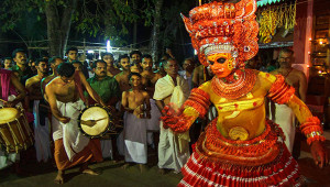 Drum and Theyyam in kerala kannur