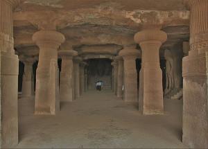 Elephanta Caves main hall