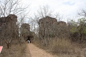 Entrance of bhimbetka