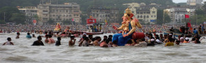 Ganesh Chaturthi Celebration In Mumbai