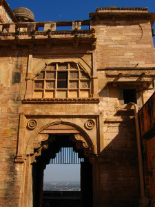 Gwalior Fort gate