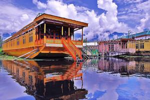Houseboat  Dal Lake srinagar Kashmir