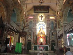 Inside santa cruez Basilica
