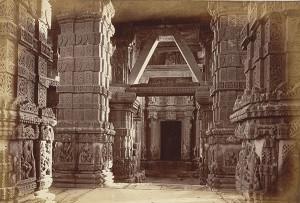 Interior of Jain Temple Gwalior Fort