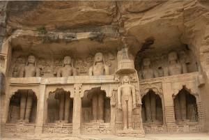 Jain statues Gwalior