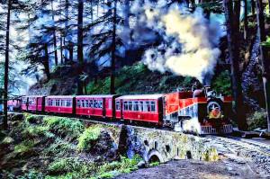 Kalka Shimla Himalayan Railway1